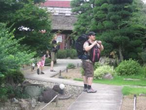 Japonsko - odchod z Ryokanu (旅館)