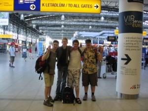 Japonsko - letiště Praha Ruzyně