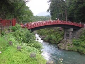 Japonsko - most v Nikko