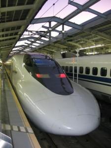Japonsko - Shinkansen
