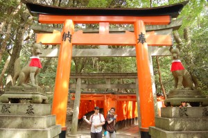 Japonsko - tori brany (Kyoto) - Fushimiinari-taisha Shrine