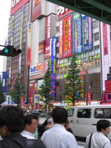 Japonsko - Akihabara