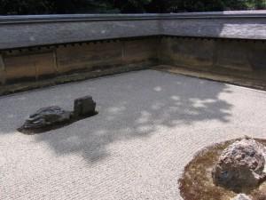 Japonsko - rock garden