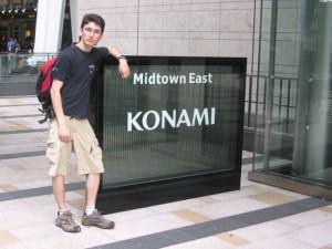 Japonsko - Tokyo - Konami and me