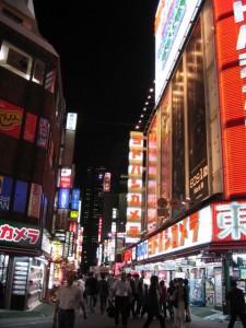 Japonsko - Tokyo - Shinjuku