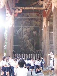 Japonsko - Nara - veeelka socha