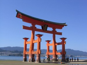 Japonsko - Miyajima - Tori brana