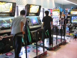 Japonsko - AC hall at Futuoka (DDR X, GFDM 6)
