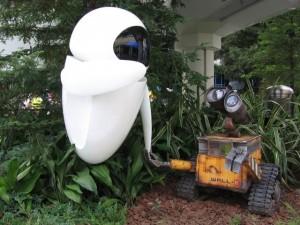 Japonsko - Tokyo Disneyland Resort - Wall-E