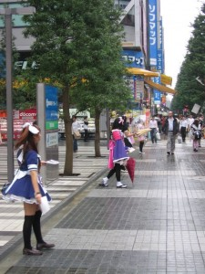 Japonsko - Tokyo a Akihabara za deste