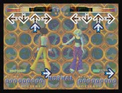 DDR screen